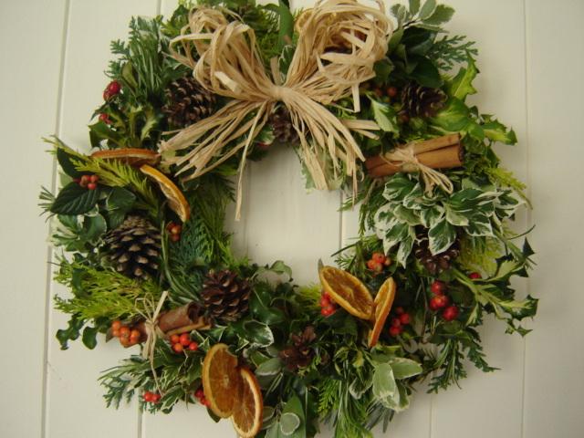 Make your own Christmas Wreath?