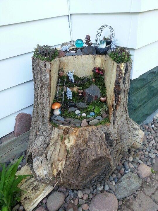 PicPost: Fairies in the Garden