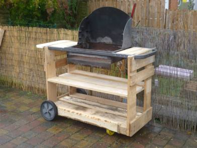 BBQ from pallets