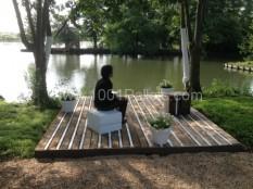 Pallet nature platform