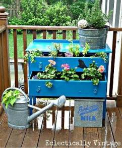 Drawers for plants...