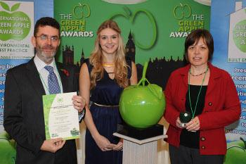 Norfolk Master Composters won a Green Apple Award