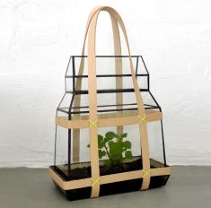greenhouse to go by Studio Besau-Marguerre for milan design week