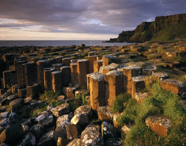 The Giant's Causeway in Northern Ireland, by Joe Cornish