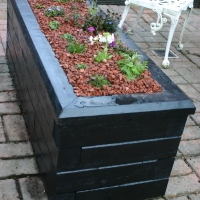 Alpine Planter Project- finished