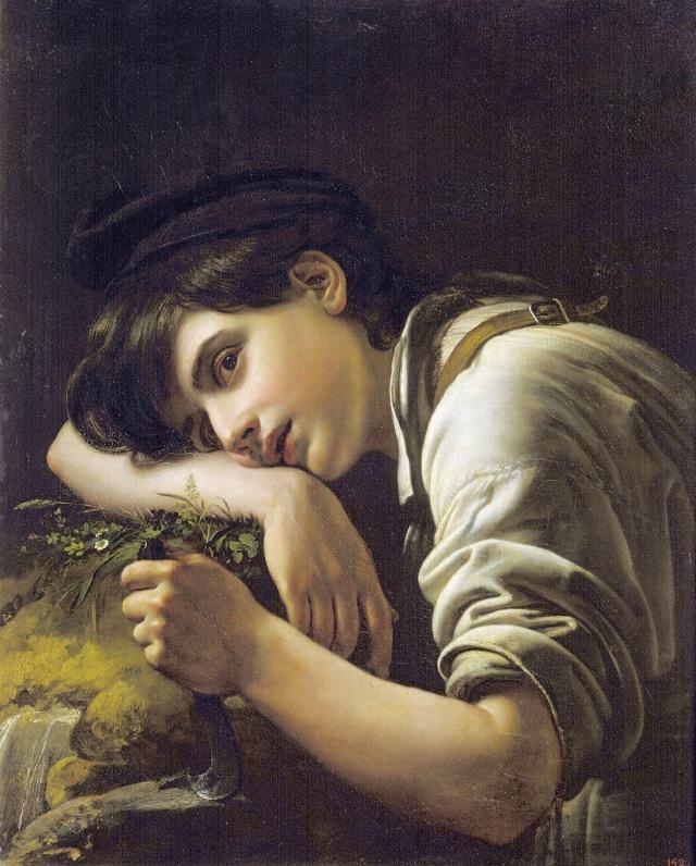 Young Gardener, by Orest Kiprensky, 1817