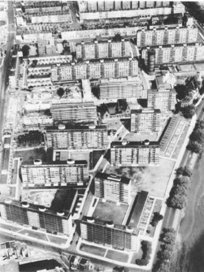 Aerial view, 1960s
