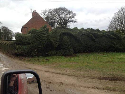 A work of art in East Rudham, Norfolk