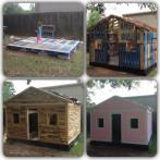 Pallet hut/shed/playhouse
