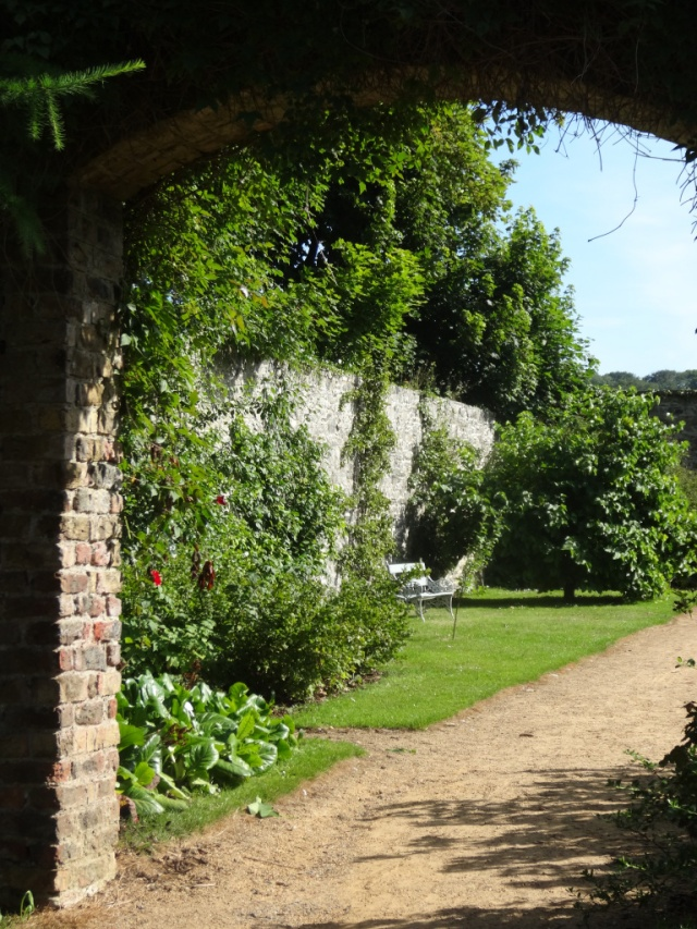 The walled garden Ardgillan Castle, Co Dublin