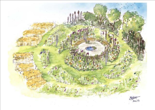 The Jordans Wildlife Garden Design