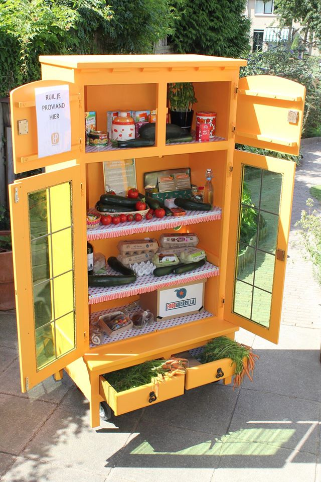 food sharing cupboard holland free
