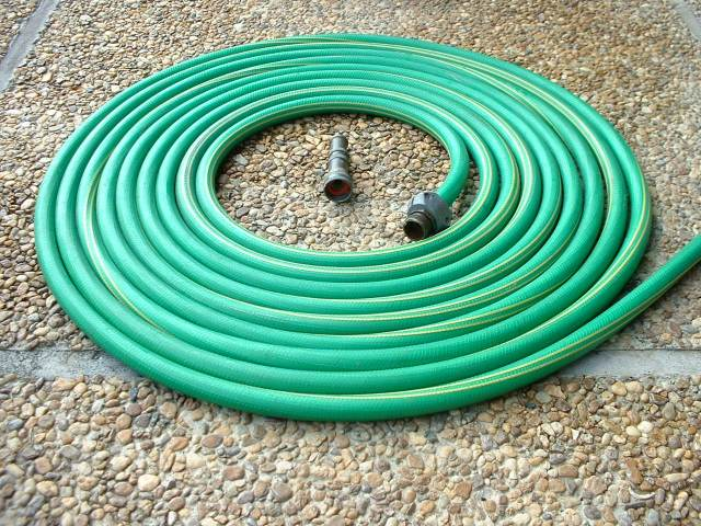 Oh that my hose would coil up as neatly as this....