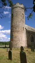The round tower of St. Peter's
