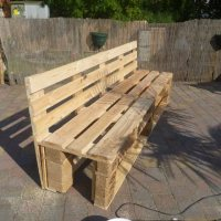 Pallet to Bench