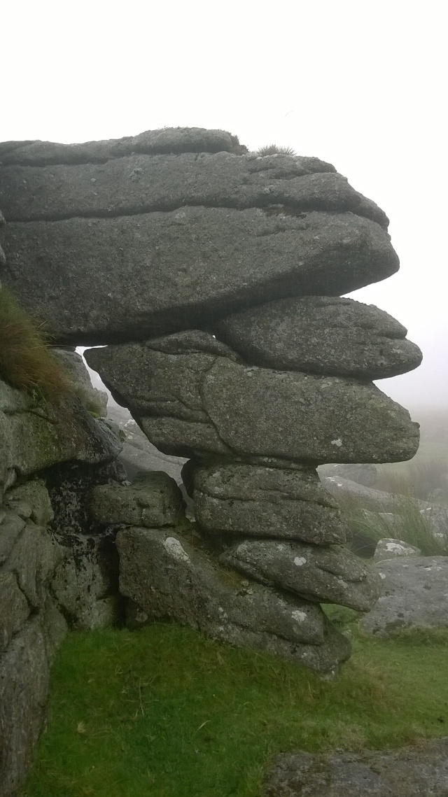 What a pile- some amazing granite on Great Mis tor