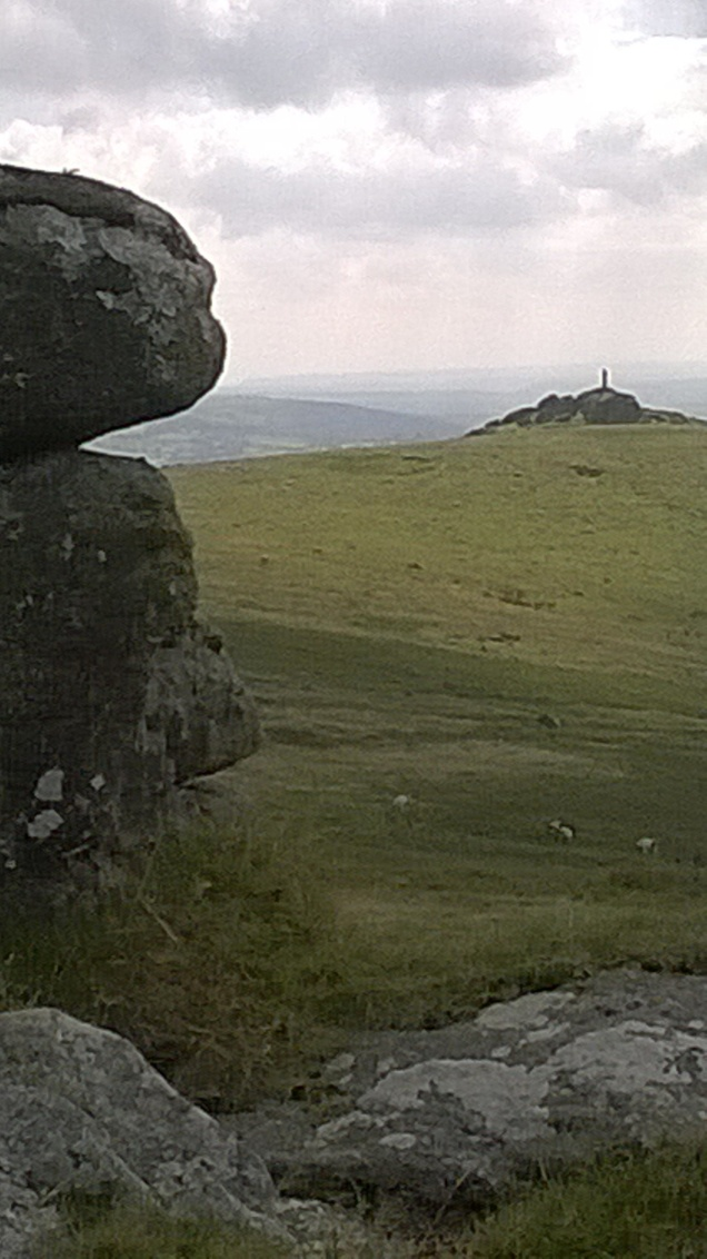 View back to Brat Tor from Arms Tor