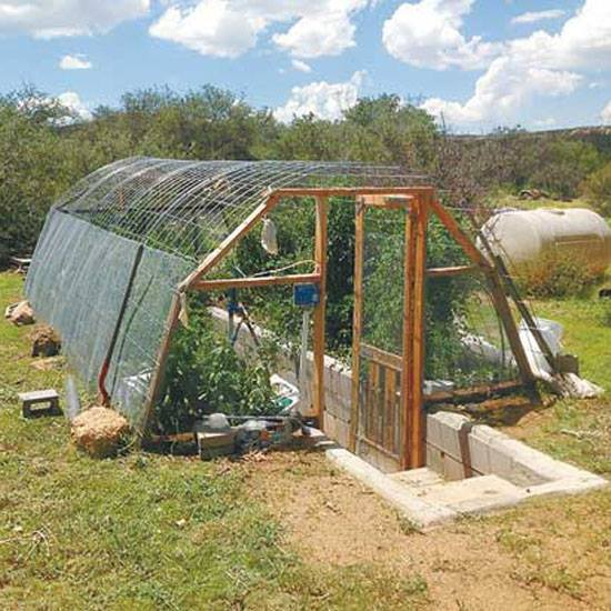 heat sink greenhouse
