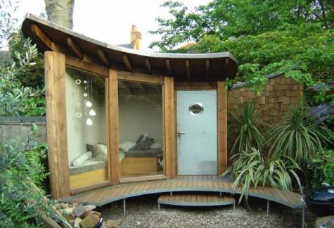 Garden Shelter Ideas From Oz | @meccinteriors | Design Bites