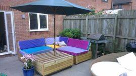 pallet patio set