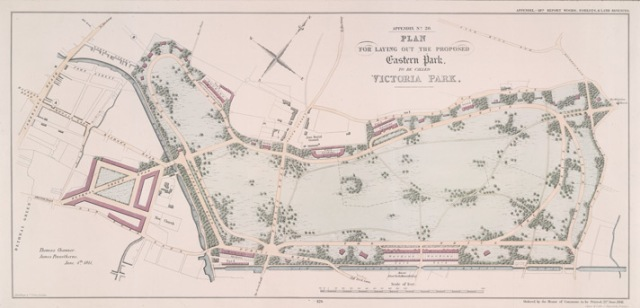 The Park proposed in 1841