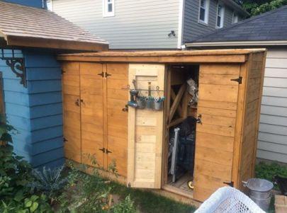 A natty shed...