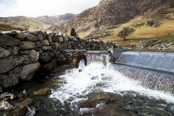 Snowdon hydro at National Trust Hafod y Llan farm (credit National Trust_John Millar)
