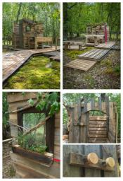 Forest bathroom!