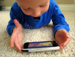 Smartphone_as_Child_Toy by RogDel wikimedia commons