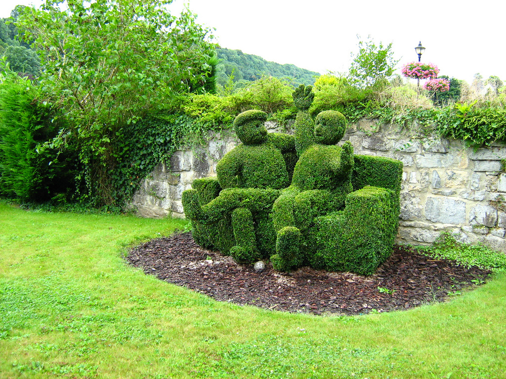 Topiary Love or Hate Old School Garden