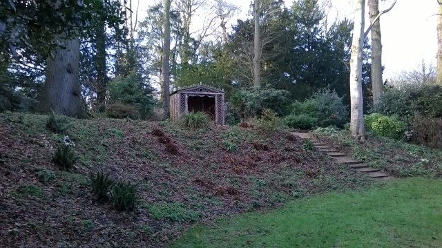 The Dell, Blickling- scene of this week's voluntary push..