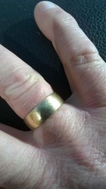 RESULT! Wedding ring restored!