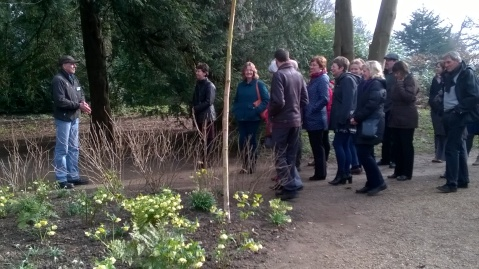 Head Ranger Dave Bryant describing the layout of Blickling Park