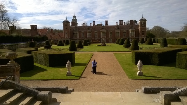 Blickling looking glorious in the spring sunshine