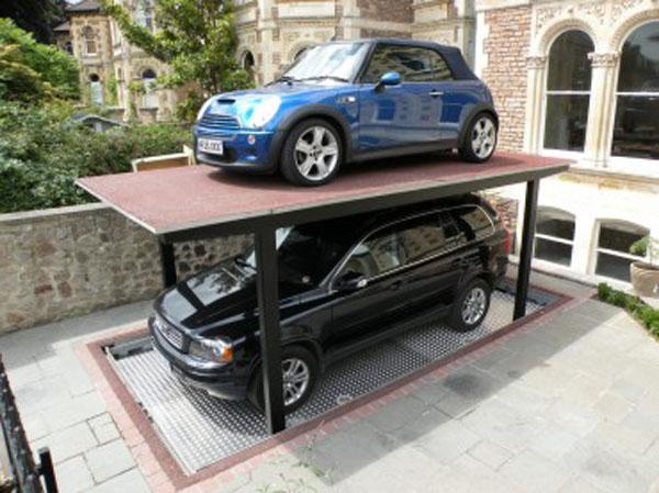 Stunning Underground Garage Design Ideas With Hydraulic System