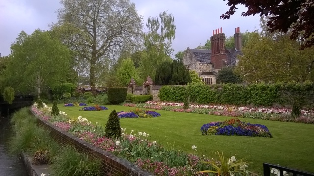 Southover Grange Gardens, Lewes, Sussex, recently