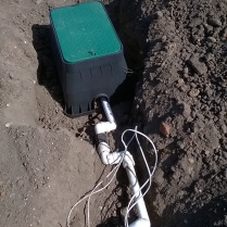 Irrigation system nearly ready for action