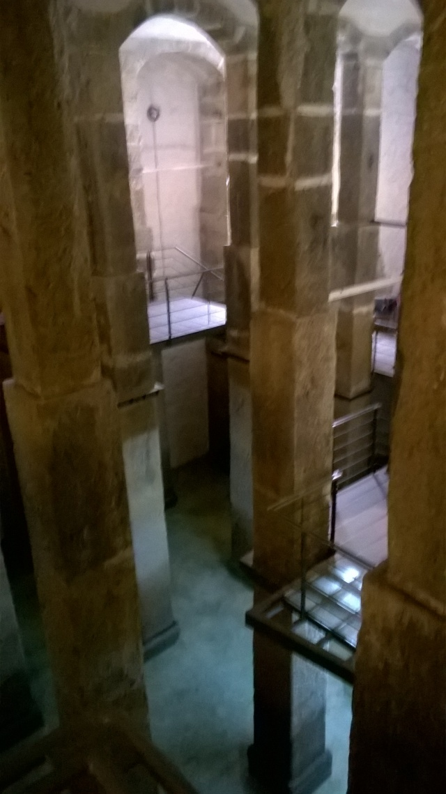 The underground cathedral that is the Lisbon Patriarchal Reservoir