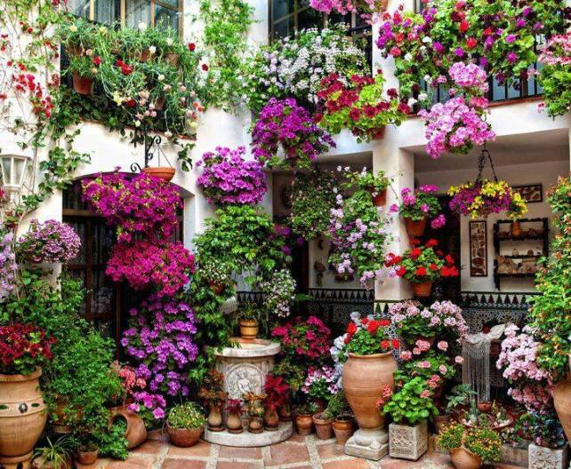 Patio, Cordoba, Spain