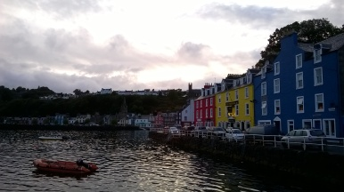 Tobermory harbour front..