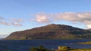 Looking across Loch Scridain from our second stop...