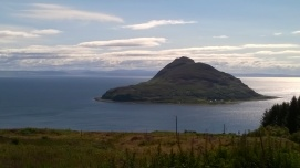 looking towards Holy Isle