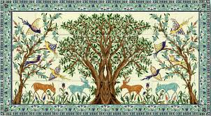 The Olive Tree of Jerusalem mural