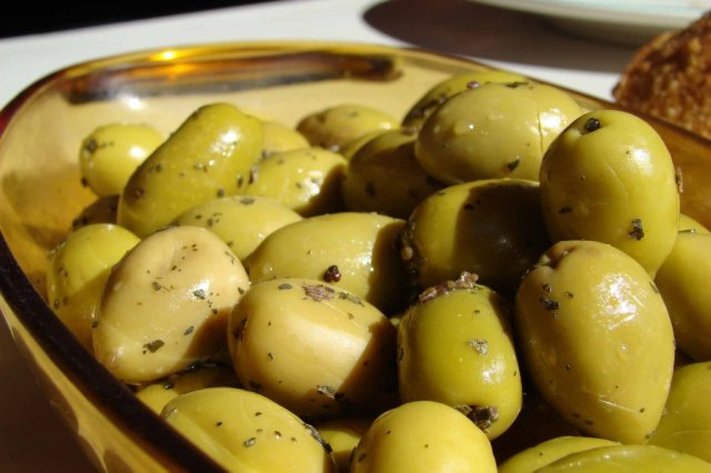 Olives ready to eat- Picture by K'm