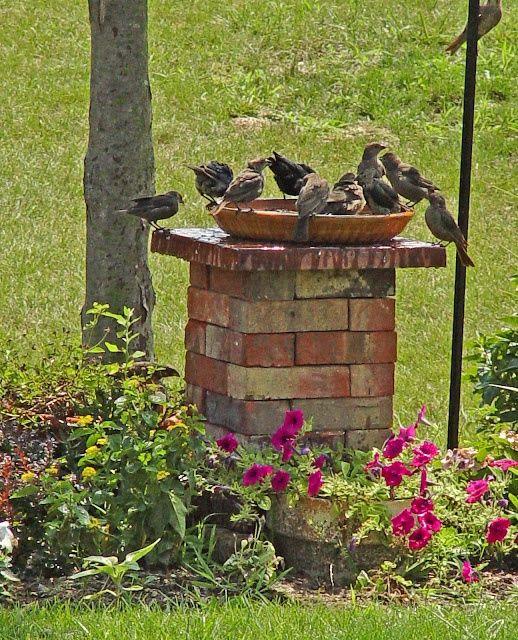 brick pedestal