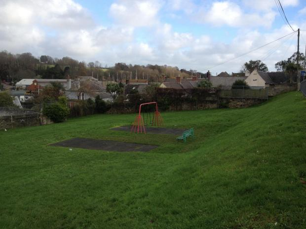 Peri pocket park today- due for a major makeover