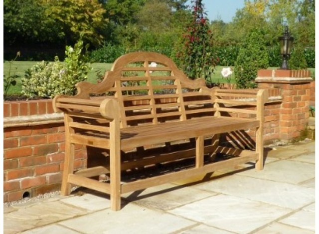 The classic 'Lutyens Bench'- one to add a bit of class to your plot?
