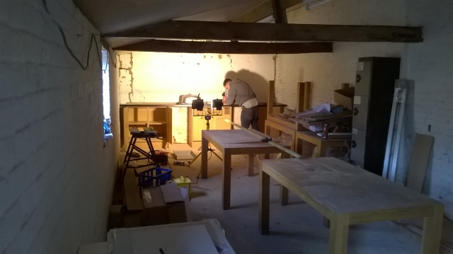 A new kitchen for the new bothy