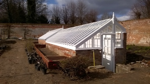 The beuatifully restored Glasshouse...