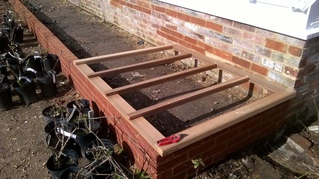 Cold Frames under contruction